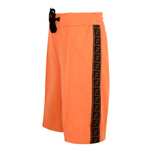 Load image into Gallery viewer, Orange FF Logo Sweat Shorts