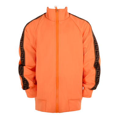 Orange FF Logo Zip Up