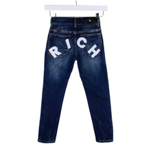 "Load image into Gallery viewer, Blue Denim ""RICH"" Jeans"