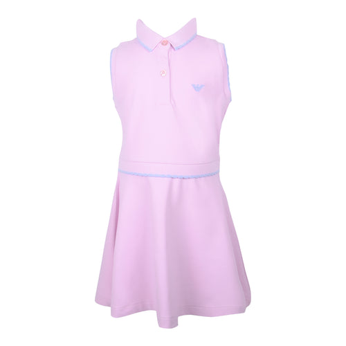 Pink Polo Style Dress