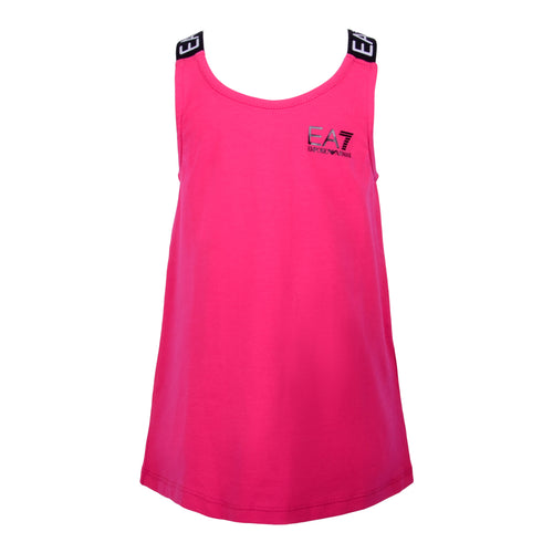 Pink EA7 Cross Back Tank Top