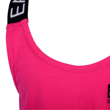 Load image into Gallery viewer, Pink EA7 Cross Back Tank Top