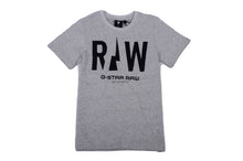 Load image into Gallery viewer, Grey & Black Raw T-Shirt