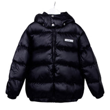 Load image into Gallery viewer, Black Down Padded Jacket
