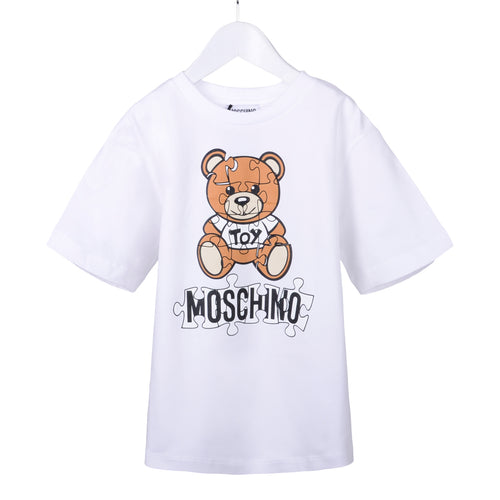 White Toy Puzzle Maxi T-Shirt
