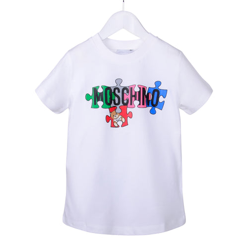 White Toy Puzzle T-Shirt