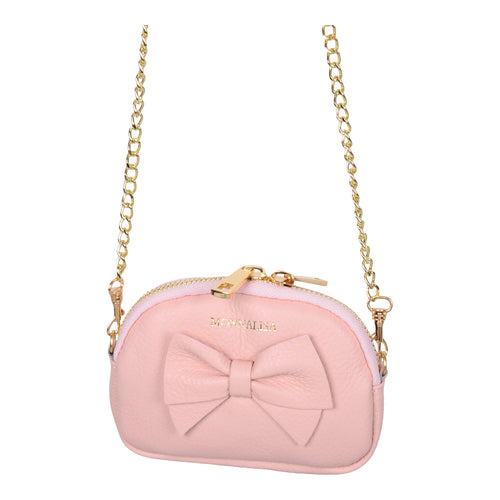 Pink Leather Purse Bag