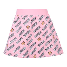 Load image into Gallery viewer, Pink Multi Logo Skirt