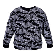 Load image into Gallery viewer, Boys Black Logo Sweat Top