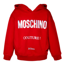 Load image into Gallery viewer, Red Metallic Couture Hoodie