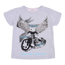 Load image into Gallery viewer, Relish Girls Sale Grey Sequin & Beaded Eagle Top