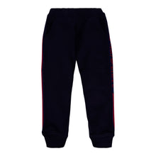 Load image into Gallery viewer, Navy & Red Tape Sweat Pants