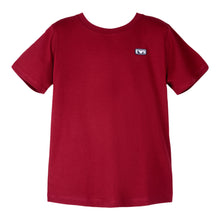 Load image into Gallery viewer, Burgundy Crew Neck T-Shirt