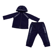 Load image into Gallery viewer, Navy Tape Tracksuit