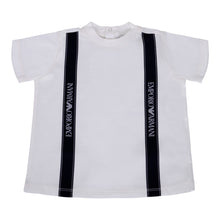 Load image into Gallery viewer, Ivory & Navy Tape T-Shirt