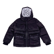 Load image into Gallery viewer, Boys Black Puffer Jacket