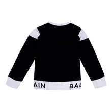 Load image into Gallery viewer, Black & White Balmain Sweat Top