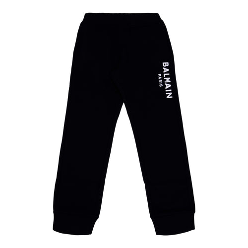 Black Logo Sweat Bottoms