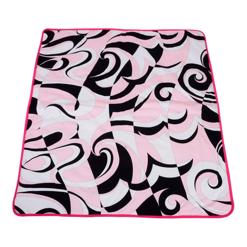 Pink Pucci Baby Blanket