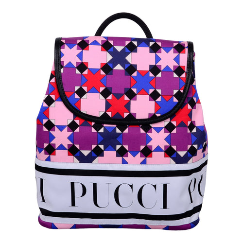 Purple & Black Pucci Backpack