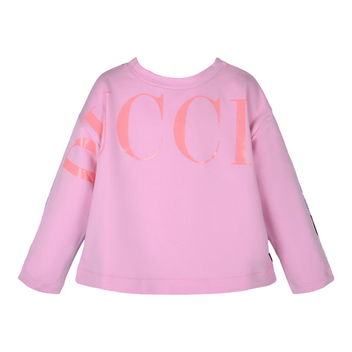 Pink & Black Pucci Sweat Top