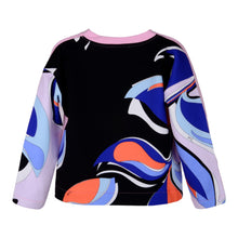 Load image into Gallery viewer, Pink & Black Pucci Sweat Top