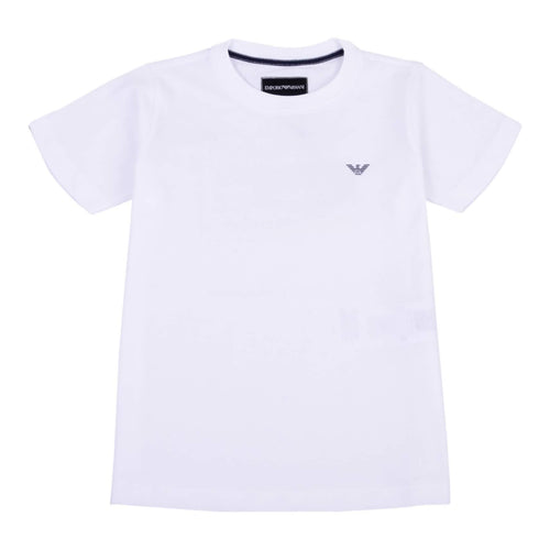 Emporio Armani Boys Sale White Crew Neck T-Shirt