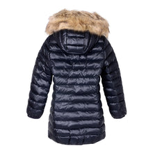 Load image into Gallery viewer, Girls Faux Fur Puffer Jacket