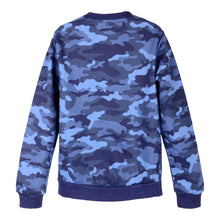 Load image into Gallery viewer, Blue Camouflage Sweat Top
