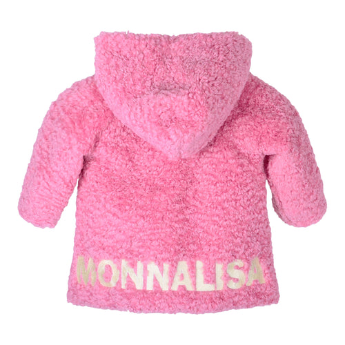 Pink Soft Teddy Coat
