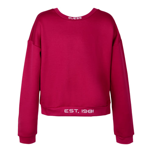 Burgundy Glow in the Dark Sweat Top