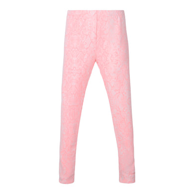 Pink Snakeskin Leggings