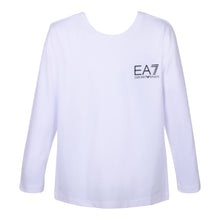 Load image into Gallery viewer, White Crew Neck LS Top