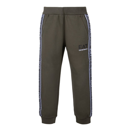 Khaki Tape Sweat Pants