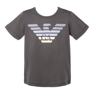 Khaki Grey & Gold Eagle T-Shirt