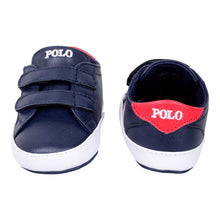 Load image into Gallery viewer, Navy & Red Pre Walker Trainer