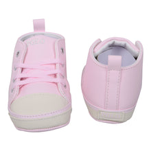 Load image into Gallery viewer, Pink High Top Pre Walker Trainer