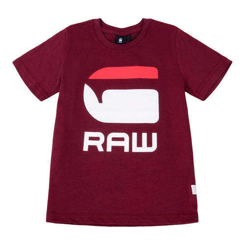 Burgundy G-Raw T-Shirt