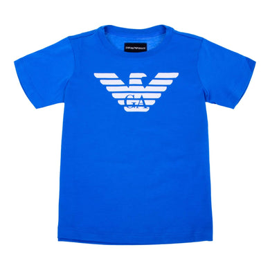 Emporio Armani Boys Sale Blue Eagle T-Shirt