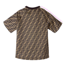 Load image into Gallery viewer, Brown & Pink FF T-Shirt