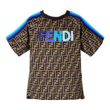 Load image into Gallery viewer, Brown & Blue FF T-Shirt