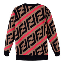 Load image into Gallery viewer, Brown & Red Knitted Jumper