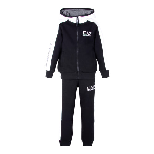Black & White EA7 Tracksuit