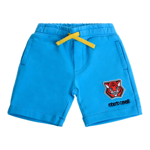 Blue Sweat Shorts