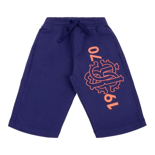 Navy RC Sweat Shorts