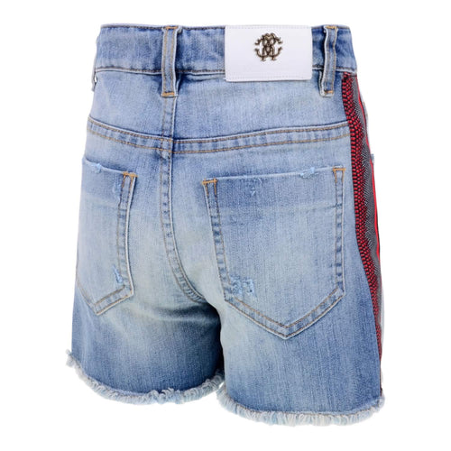 Denim Trim Shorts