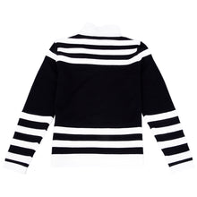 Load image into Gallery viewer, Black & White Striped Jumper