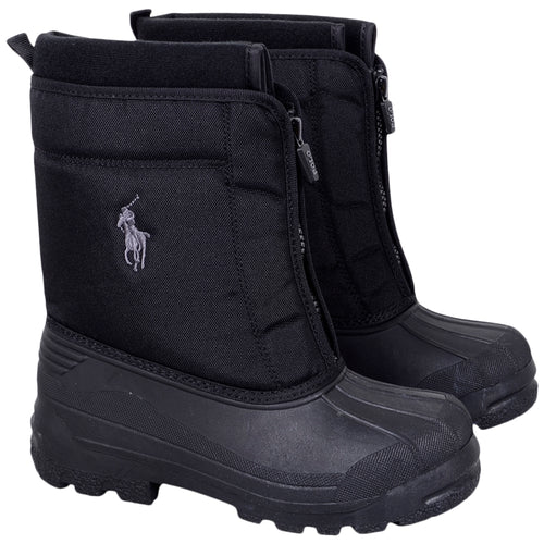 Black 'Quilo Zip' Snow Boot