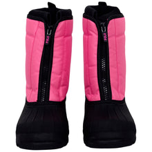 Load image into Gallery viewer, Pink 'Quilo Zip' Snow Boot