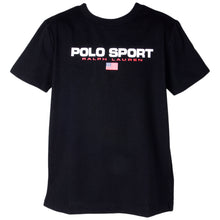 Load image into Gallery viewer, Black Polo Sport T-Shirt